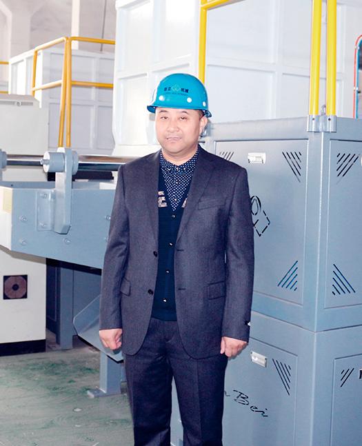 新贝机械总经理林崇亚