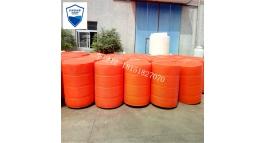增氧机浮桶 水上浮漂 拦污网塑料浮桶