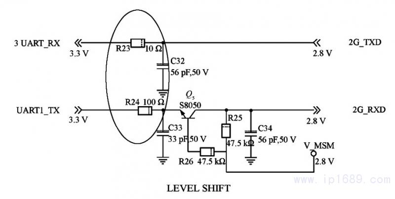 UArt电平转换电路原理