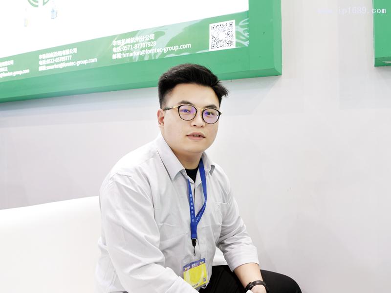 丰铁塑机(苏州)有限公司销售经理吴隽海