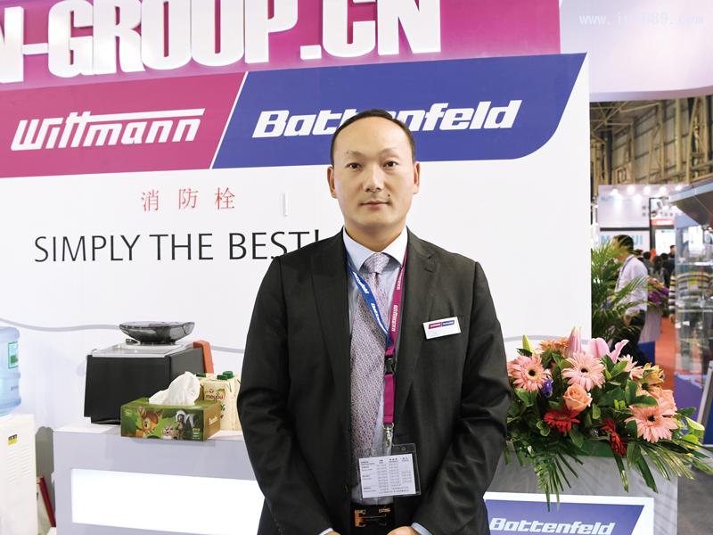 威猛巴顿菲尔机械设备(上海)有限公司华南区总经理刘毅