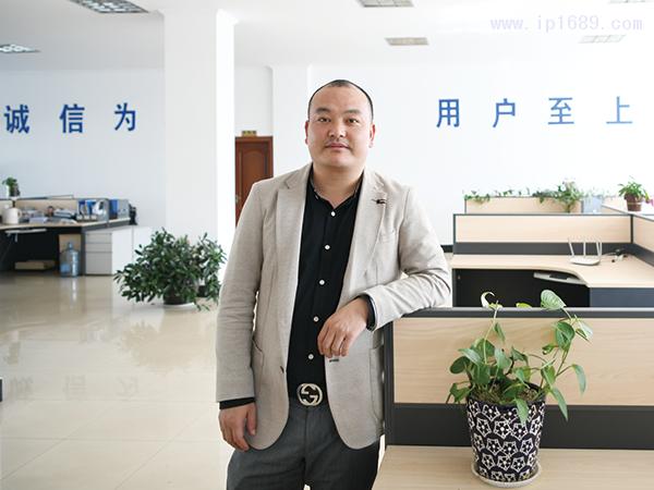 浙江金海塑料机械有限公司总经理陈乐军