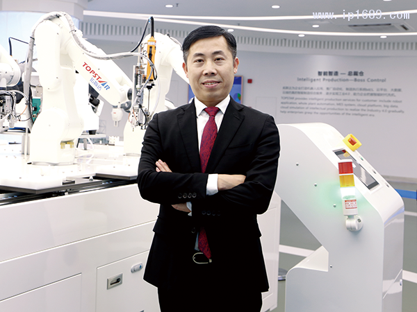 广东拓斯达科技股份有限公司营销中心总经理尹建桥