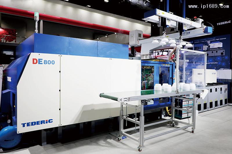 泰瑞机器股份有限公司De168c经典电动注塑机