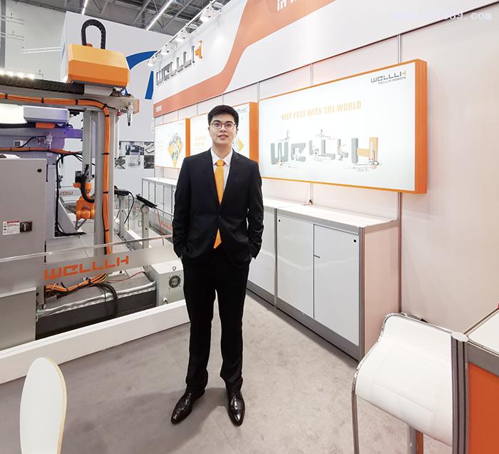 宁波伟立机器人科技股份有限公司项目经理吕益川