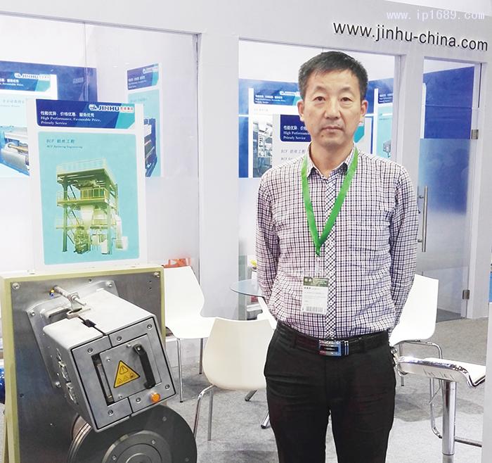 舟山金湖化纤机械有限公司总经理邬杨伟