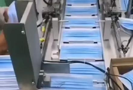 瀚森口罩机的生产制造 (9904播放)