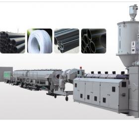 管材塑料挤出生产线