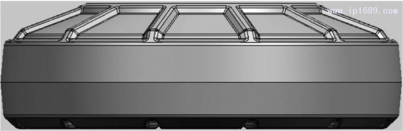 图10 含凸起式加强筋的线缆架优化模型