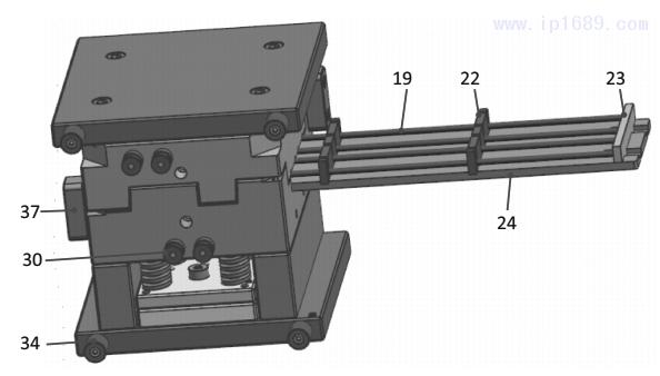 图15 模具结构3D图