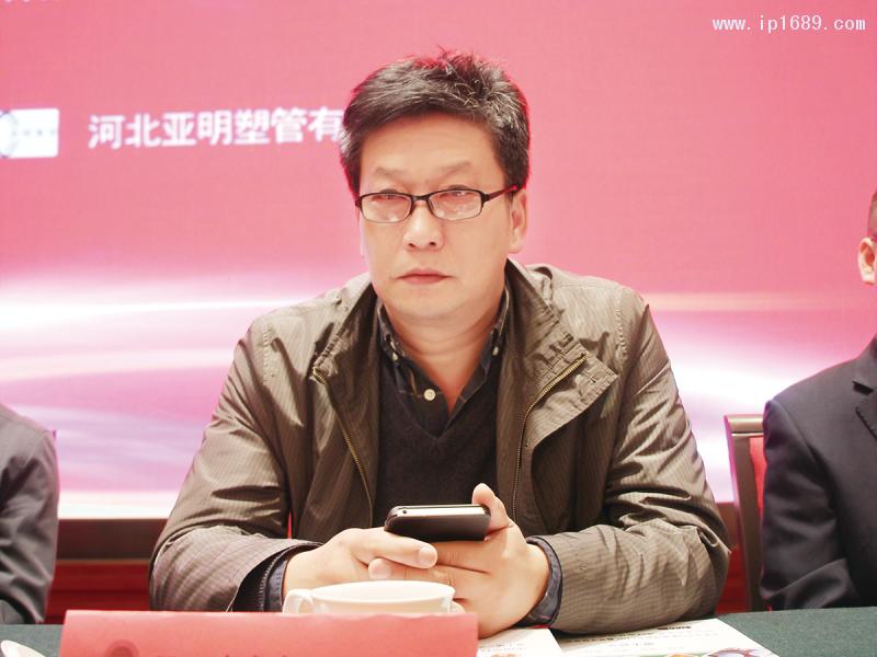 金德管业集团有限公司副总裁技术中心主任王士良