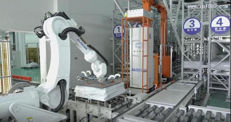 新松机器人作业