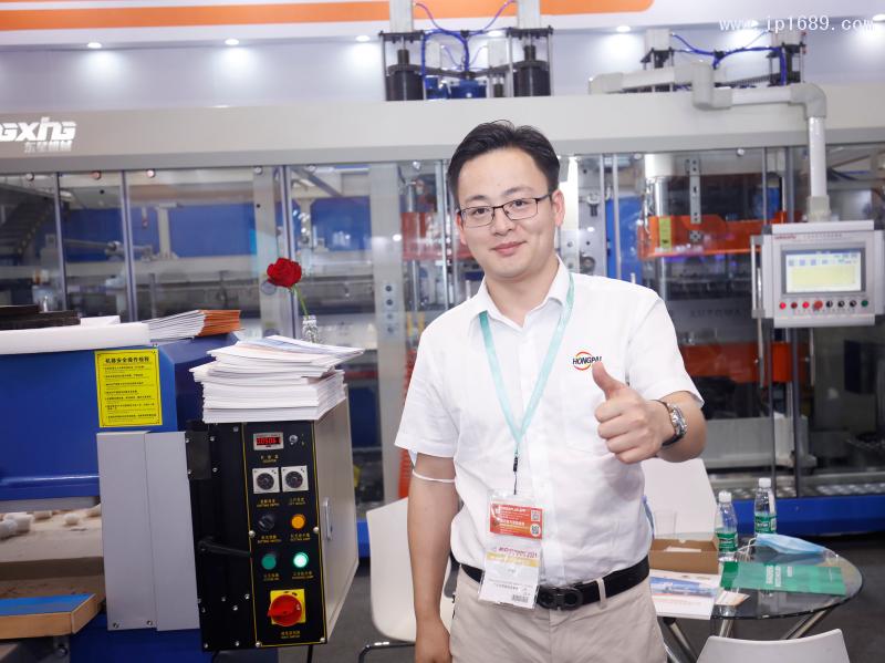 东莞市东星机械设备有限公司销售经理周佳伟