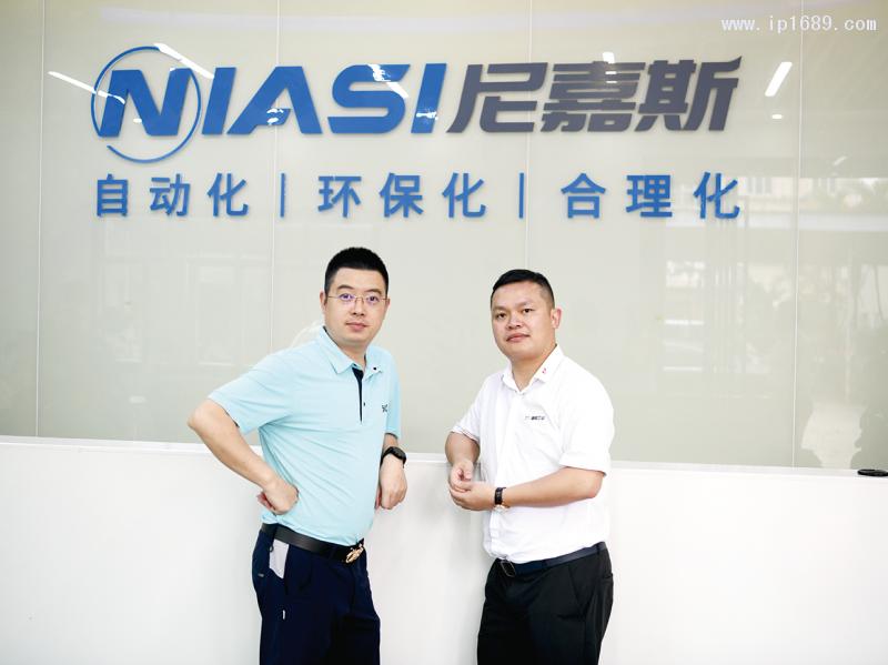 东莞市尼嘉斯塑胶机械有限公司总经理唐亚青